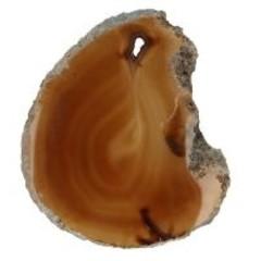 Ruben Robijn Agaatschijfje natuur mini (1 stuks)