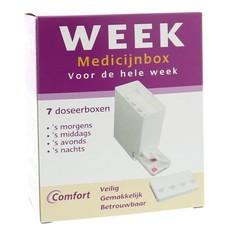 Comfort Medicijnbox 7 dagen incl dagverdeling (1 stuks)