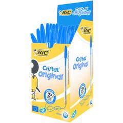 BIC Cristal pennen blauw doos (50 stuks)