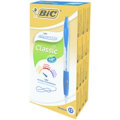 BIC Atlantis pennen blauw doos (12 stuks)
