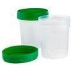 Comfort Urinecontainer met schroefdop 120 ml (500 stuks)