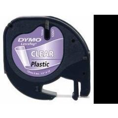 Dymo Letratag tape transparant (1 stuks)