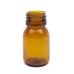 Blockland Medicijnfles ongedopt bruin 30 ml (156 stuks)