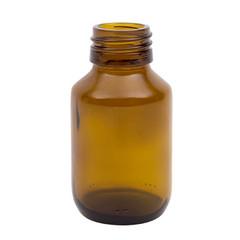 Blockland Medicijnfles ongedopt bruin 60 ml (33 stuks)