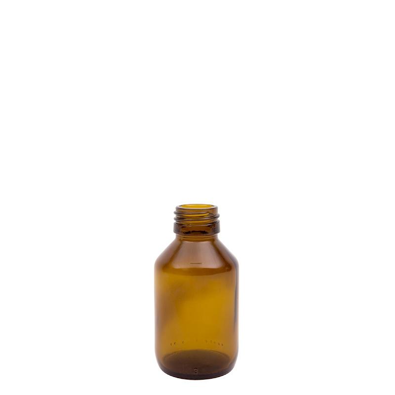Blockland Blockland Medicijnfles ongedopt bruin 100 ml (27 stuks)