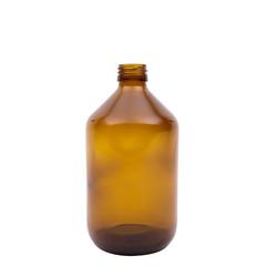 Blockland Medicijnfles ongedopt bruin 500 ml (8 stuks)
