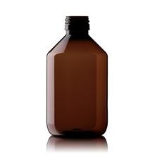 Blockland Blockland Medicijnfles pet bruin ongedopt 300 ml (25 stuks)