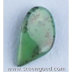 Steengoed Chrysopaas groen getrommeld maat 5 (100 gram)