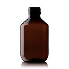 Blockland Medicijnfles pet bruin ongedopt 200 ml (36 stuks)