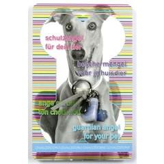 Steengoed Beschermengel huisdier hond chalcedoon (1 stuks)
