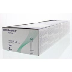 BD Emerald spuit 2 ml 3-delig (100 stuks)