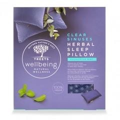 Treets Herbal sleep pillow clear sinus (1 stuks)