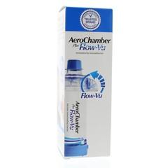 Diversen Aerochamber + flow VU mondstuk blauw (1 stuks)