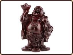 Ruben Robijn Ruben Robijn Boeddha met kruik rood 15 cm (1 stuks)