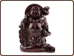 Ruben Robijn Ruben Robijn Boeddha op zak met schaal rood (1 stuks)