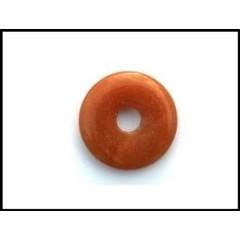 Ruben Robijn Donut 3 cm aventurijn oranje (1 stuks)