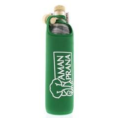 Amanprana Eco respect drinkfles groen (1 stuks)