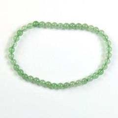 Steengoed Armband 4 mm kraal aventurijn groen (1 stuks)
