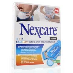 Nexcare Cold hot belt rug buik s/m (1 stuks)