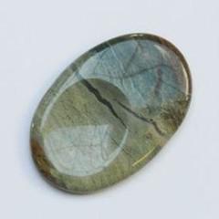 Steengoed Duimsteen jaspis zilverblad (1 stuks)