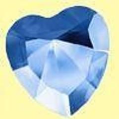 Lichtwesen Elohim hart 40 mm vrede blauw 55 (1 stuks)