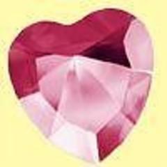 Lichtwesen Elohim hart 40 mm levenskracht rood 60 (1 stuks)