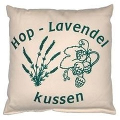 Marco Polo Hop lavendel kussen 40 x 40 (1 stuks)
