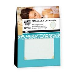 Treets Massage scrub pad (1 stuks)