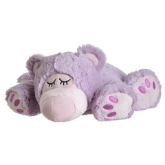 Warmies Sleepy bear lila (1 stuks)