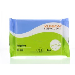 Klinion Personal care washand bodyglove (8 stuks)