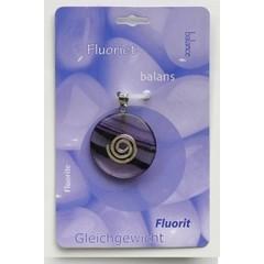 Steengoed Donuthanger fluoriet (1 stuks)