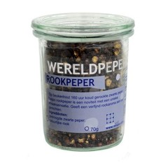 Esspo Wereldpeper rookpeper zwart glas (70 gram)