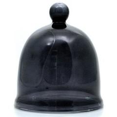 Terre Doc Patchouli kleine glazen stolp zwart (1 stuks)