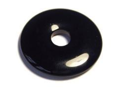 Ruben Robijn Ruben Robijn Donut 3 cm obsidiaan (1 stuks)