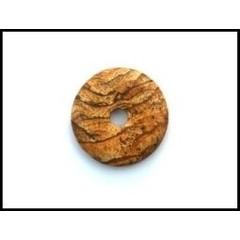 Ruben Robijn Donut 4 cm jaspis landschap (1 stuks)
