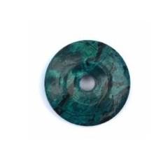Ruben Robijn Donut 5 cm turkoois gekleurd (1 stuks)