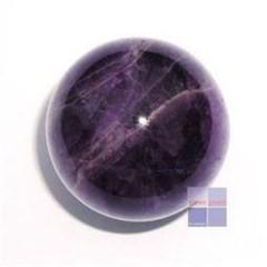 Steengoed Bol 35 mm Amethyst A (1 stuks)