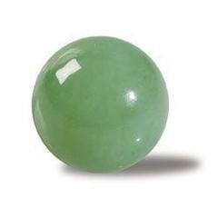 Steengoed Bol 35 mm Chinese jade (1 stuks)