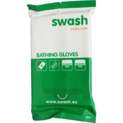 Smove Swash washandje gold parfumvrij (8 stuks)