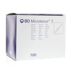 Becton Injectienaald microlance 0.6 x 25 (100 stuks)