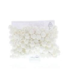Blockline Tipcaps wit voor 3 ml 5 ml en 10 ml spuit (100 stuks)