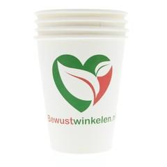 Bewustwinkelen Kartonnen koffie- en theebeker (50 stuks)