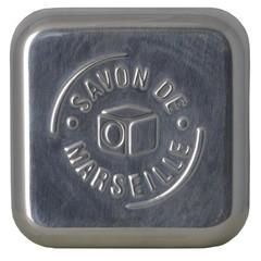 Aleppo Soap Co Zeepdoos aluminium leeg voor Marseille zeep ()