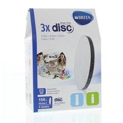 Brita Waterfilter MicroDisc voor Serve en Vital 3-pack (3 stuks)