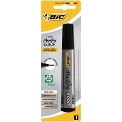 BIC Permanent marker zwart blister (1 stuks)