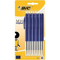 BIC M10 blauw blister balpen (10 stuks)