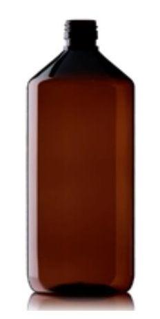 Blockland Blockland Medicijnfles pet bruin 1 liter (15 stuks)