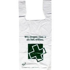 Holland Pharma Biodraagtassen 430 x 200 x 120 mm (1000 stuks)