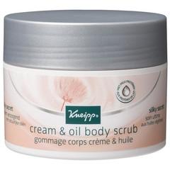 Kneipp Cream & oil body scrub silky secret (200 ml)