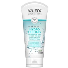 Lavera Basis Sensitiv douchegel/body wash 2in1 F-NL (200 ml)